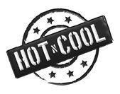 Hot n sexy - černá — Stock fotografie