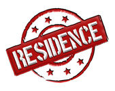 Residence - Red — Stock Photo