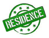 Residence - Green — Stock Photo