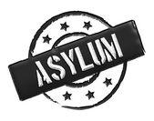 Asylum - Black — Stock Photo