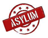 Asylum - Red — Stock Photo