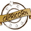 Zodiac - Retro - CAPRICORN — Stock Photo