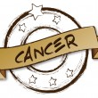 Zodiac - Retro - CANCER — Stock Photo