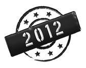 2012 - Stamp — Stock Photo