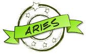Retro Zodiac - Aries — Stock Photo