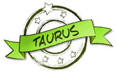 Zodiac - Retro - taurus — Photo
