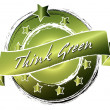 Think Green - Banner — Stock Photo