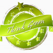 Think Green - Banner — Stock Photo #9604019