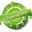 Think Green - Banner — Stock Photo #9604109
