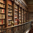 Lots of old books in a old library — Stock Photo #8335456