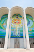 Histórica primera iglesia bautista en huntsville, alabama — Foto de Stock