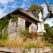 Stock Photo: 19th century crypt or mausoleum at Oakland cemetery in Atlanta.