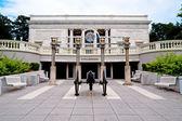 Museu de atlanta cyclorama e guerra civil — Foto Stock