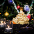 Christmas new year decoration — Stock Photo