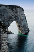 The cliffs of Etretat — Stock Photo