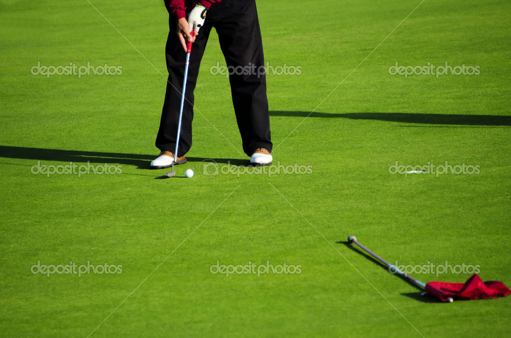 Golf green — Stock Photo #10045746