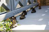 古い放棄された靴 — ストック写真