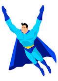 Superhero — Stock Vector