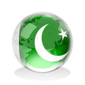 Pakistan Insignia — Stock Photo