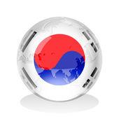 South Korea Insignia — Stock Photo