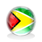 Guyana Insignia — Stock Photo