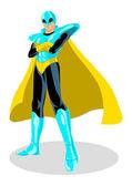 Superheld — Stockvektor