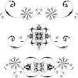Floral frames set - 