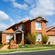 Stock Photo: New home in subdivision