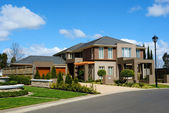 Australian suburb — Stock Photo