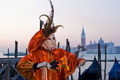Mask, Carnival of Venice — Stock Photo