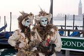 Masks, Carnival of Venice — Stock Photo