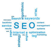 SEO - search engine optimization concept — Stock Photo