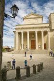 Basilica of the Holy Republic of San Marino — Stock Photo