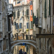 Stock Photo: Traditional Venice gondolride
