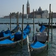 Gondolas in Venice - Stockfoto