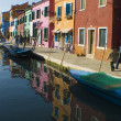 Village of Burano Italy - Foto Stock