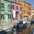 Village of Burano Italy - Stock Photo