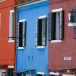 Village of Burano Italy - Foto de Stock