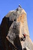 A corda de escalada — Fotografia Stock