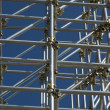 Security structure scaffolding - Stock Photo