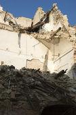 The devastation of the earthquake — Stock Photo