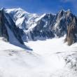 Italian Alps Mont Blanc — Stock Photo