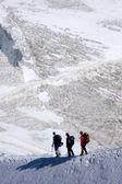 Italien alpes mont blanc — Photo