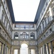 Stock Photo: Florence Uffizi Gallery
