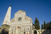 Florence Church of Santa Maria Novella — Stock Photo