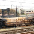 Foto de Stock  : Train accident