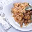 Tripe with beans — Stock Photo