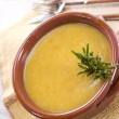 Stock Photo: Carrot soup