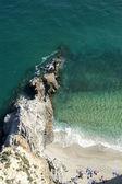 Yaz aylarında sahilde — Stok fotoğraf