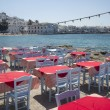 Stock Photo: Restaurant on the sea